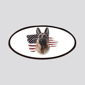 Patriotic German Shepherd Patches
